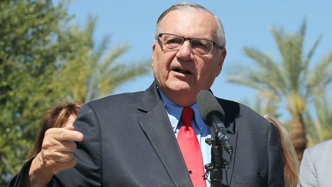 Arpaio Speaks to Toy Doughnut in New Baron Cohen Show