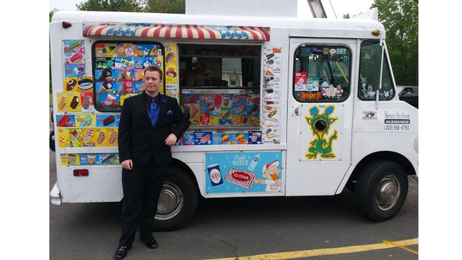 Chill Ride: Conn. Teen Takes Ice Cream Truck to Prom