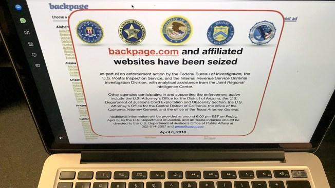 Feds Seize Backpage.com, Affiliated Websites in Enforcement Action