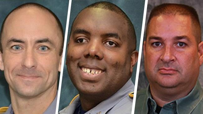 Biden Tries to Comfort Relatives of Slain Louisiana Officers