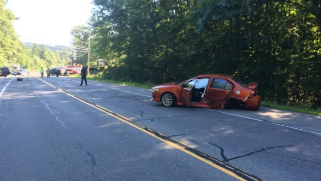 4 Injured in 5-Vehicle Crash in Bedford, New Hampshire