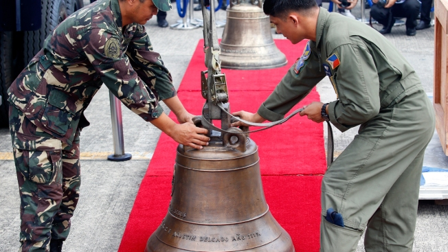 US Returns 3 Disputed Bells Taken From Philippines in 1901