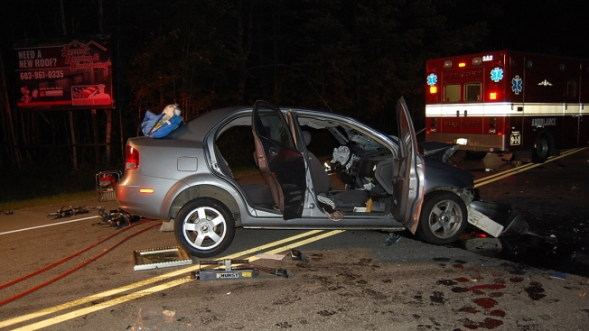 Motorcyclist Killed in 3-Vehicle Crash on Route 106 - NECN