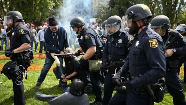 US Colleges Confront a New Era of Sometimes-Violent Protest
