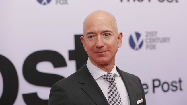 Amazon CEO Jeff Bezos Tweaks Trump With Tweet Praising Washington Post's Pulitzer Prize Wins
