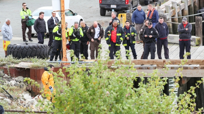 Body Found in the Water in East Boston