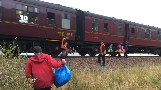 Hogwarts Express Rescues Stranded Family in Scotland