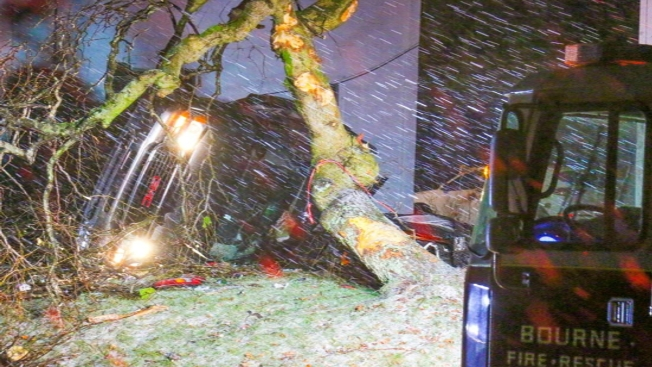 Crashes Reported Across Region Due to Storm