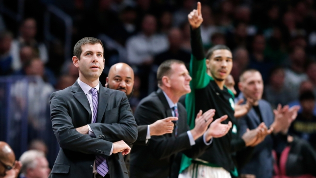 Brad Stevens' Snippy (and NSFW) Exchange With Ref Caught on Hot Mic
