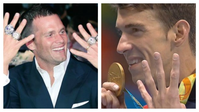 Did Tom Brady Help Michael Phelps Win Gold in His Final Olympic Race?