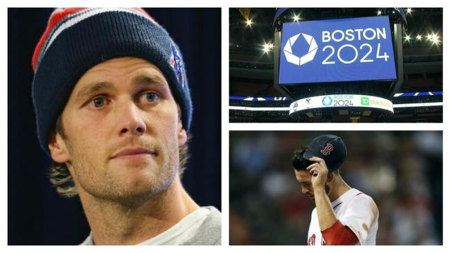 Boston's Bummer Summer: Sox Slump, Olympics Snub, Brady Out