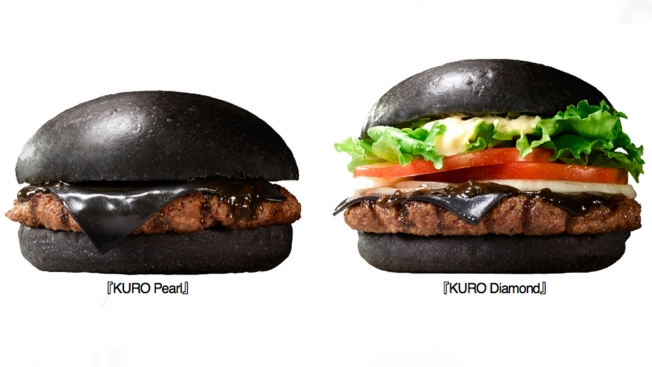 Burger King Japan Selling the Kuro Burger With Black Buns, Black Cheese