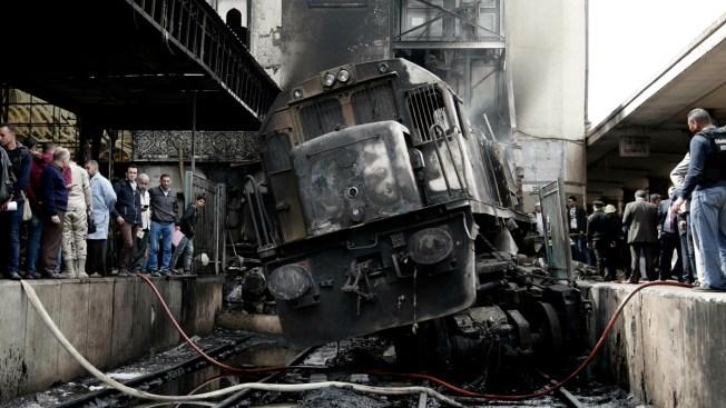 Egypt Railcar Crash, Fire at Central Cairo Station Kills 25