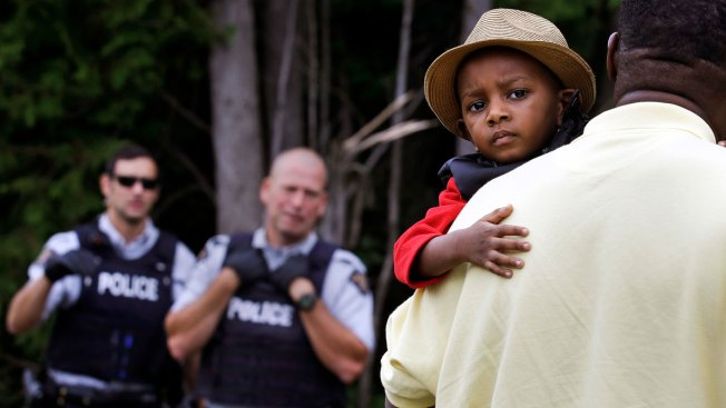 Back Road to Hope: Migrants Flood Canada at Remote Outpost
