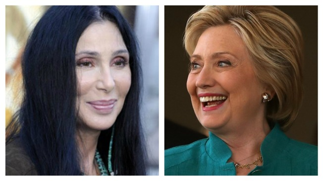 Cher to Attend Hillary Clinton Fundraiser in Provincetown, Massachusetts