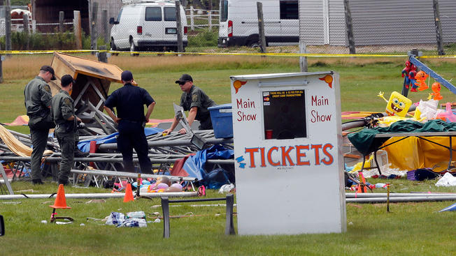 Circus Operator to Pay $24K Fine Over Deadly Tent Collapse