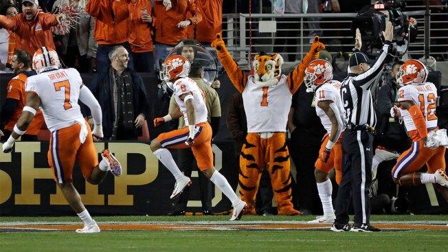 Orange Crush: Clemson Topples No. 1 Alabama for National Title