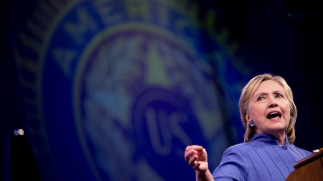 Clinton Pitches Her Foreign Policy to American Legion