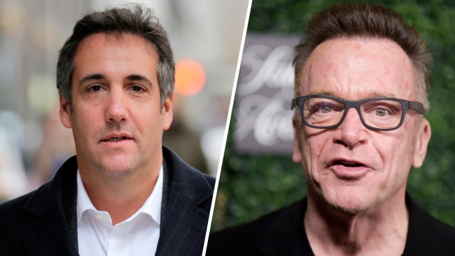 Cohen's Photo With Tom Arnold Fuels Trump Tape Speculation