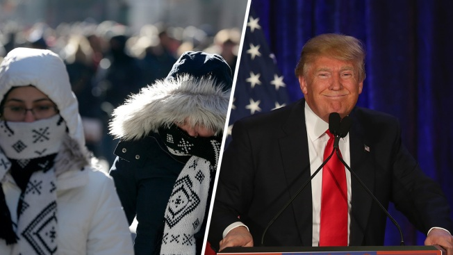 Trump Says East Coast Could Use 'Global Warming' During Cold