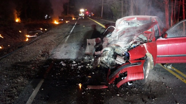 Massachusetts Man Dead in High-Speed Maine Crash