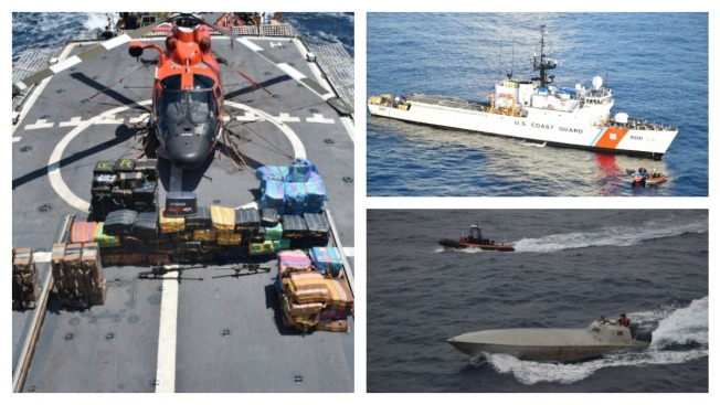 Boston Coast Guard Cutter Seizes 4.6 Tons of Cocaine