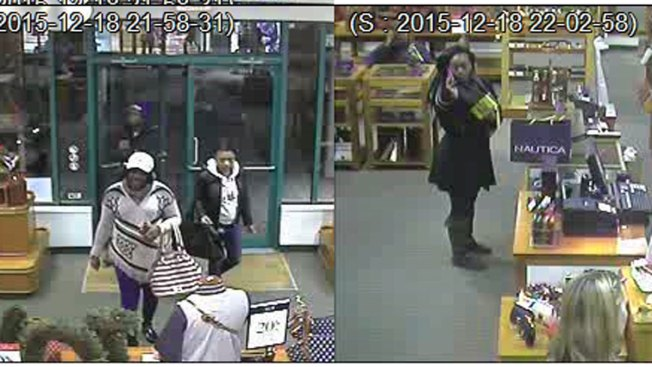 4 Suspects Wanted for Shoplifting in Clinton, Connecticut