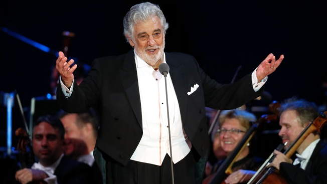 Opera's Domingo Starts US Performances Amid Allegations