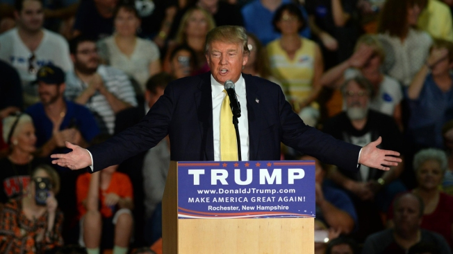 Trump Pays Months-Old Bill for Farmington, New Hampshire Rally