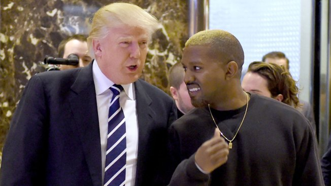 'He's My Brother': Kanye West Professes Love for Donald Trump During Tweet Storm