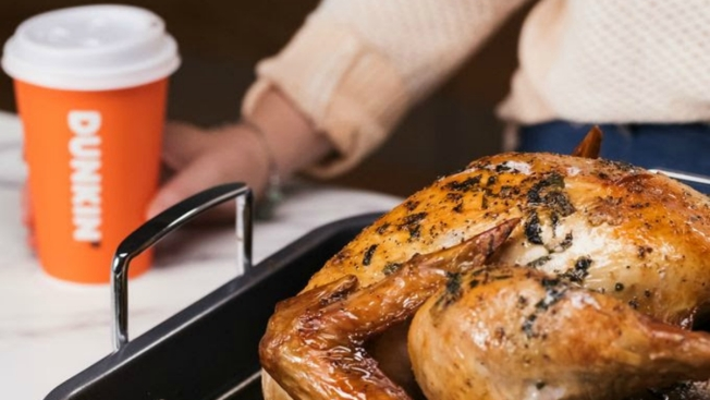 A Dunkin' Donuts Thanksgiving Turkey? Really?
