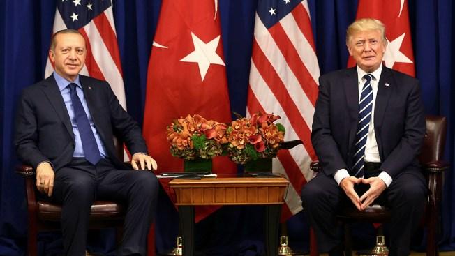 Trump Tells Turkish Leader US Will Stop Arming Syrian Kurds