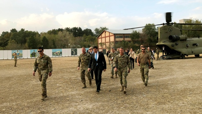 US Defense Chief in Afghanistan for Firsthand Look at War