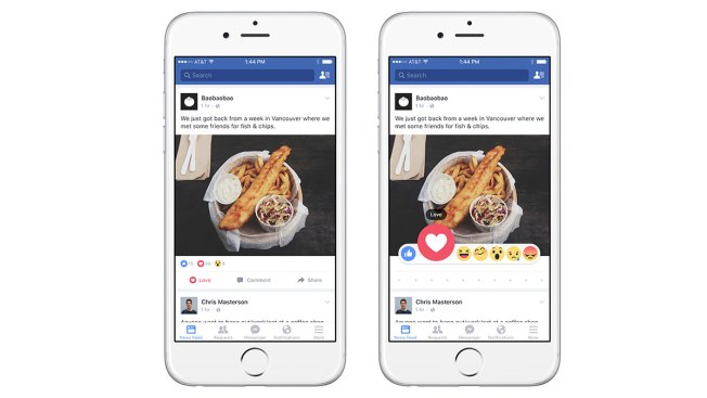 Facebook Unveils New Reactions When 'Like' Isn't Enough