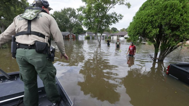 Hurricane Harvey: Toddler rescued from Texas flood