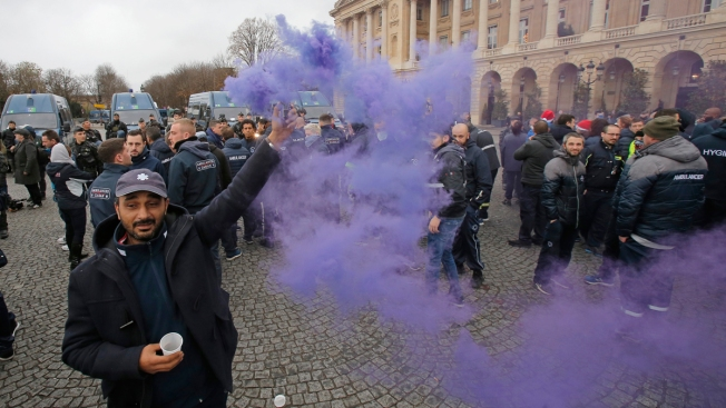 France Suspends Fuel Tax, Utility Hikes Amid Protests