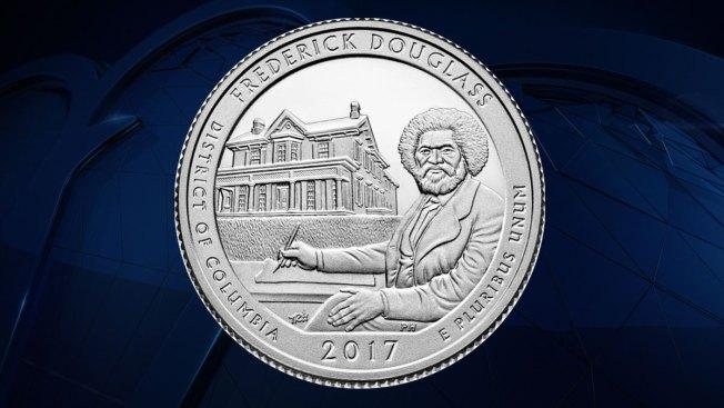 US Mint Releases Frederick Douglass Quarter