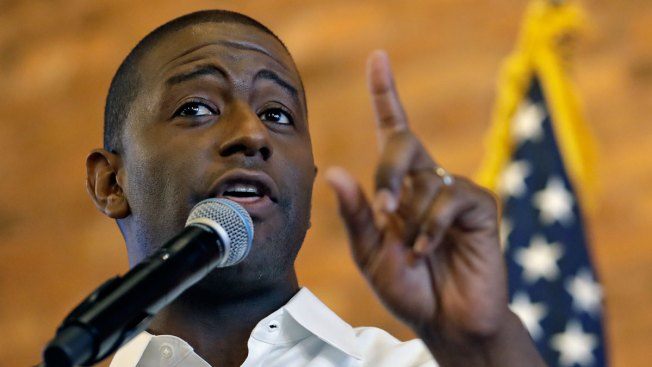 White Supremacist Group's Robocalls Target Florida Governor Candidate Andrew Gillum