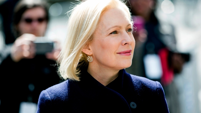 Kirsten Gillibrand Speaks to Voters at Concord Town Hall in New Hampshire