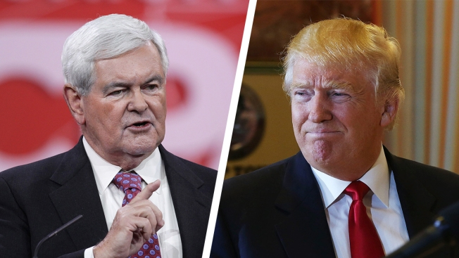 Newt Gingrich Considering being Trump's VP