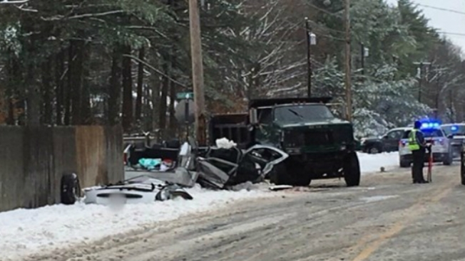 Father Killed, 3 Kids Critical After Gorham, Maine Crash