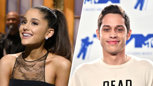 Ariana Grande and Pete Davidson Make Relationship Instagram Official