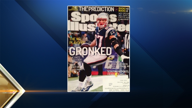 Rob Gronkowski on Cover of Sports Illustrated