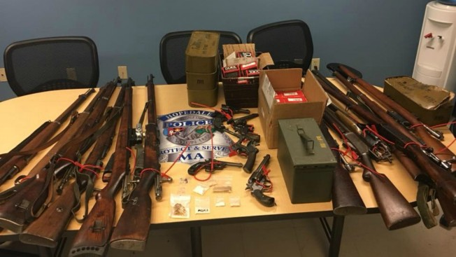 Police Seize Over a Dozen Weapons, Explosives From Massachusetts Home
