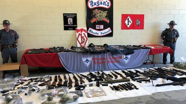 49 Arrested, 50+ Guns Seized in Massive Motorcycle Gang Bust
