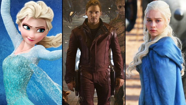 """Halloween 2014 Goes Hollywood: """"Frozen,"""" """"Game of Thrones"""" and More"""