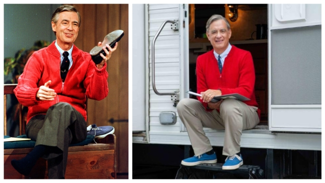 First Look: Tom Hanks Channels Mister Rogers in 'You Are My Friend'