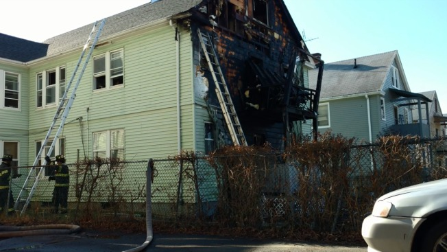 Eight Displaced Following Sunday Morning Hartford Fire