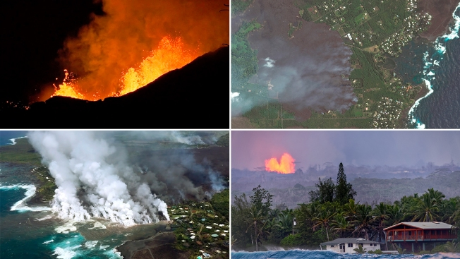 [NATL] Scenes From Kilauea: Lava Destroys Hundreds of Homes Overnight