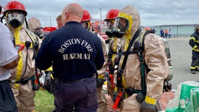 Hazmat Situation at Waste Treatment Facility on Deer Island